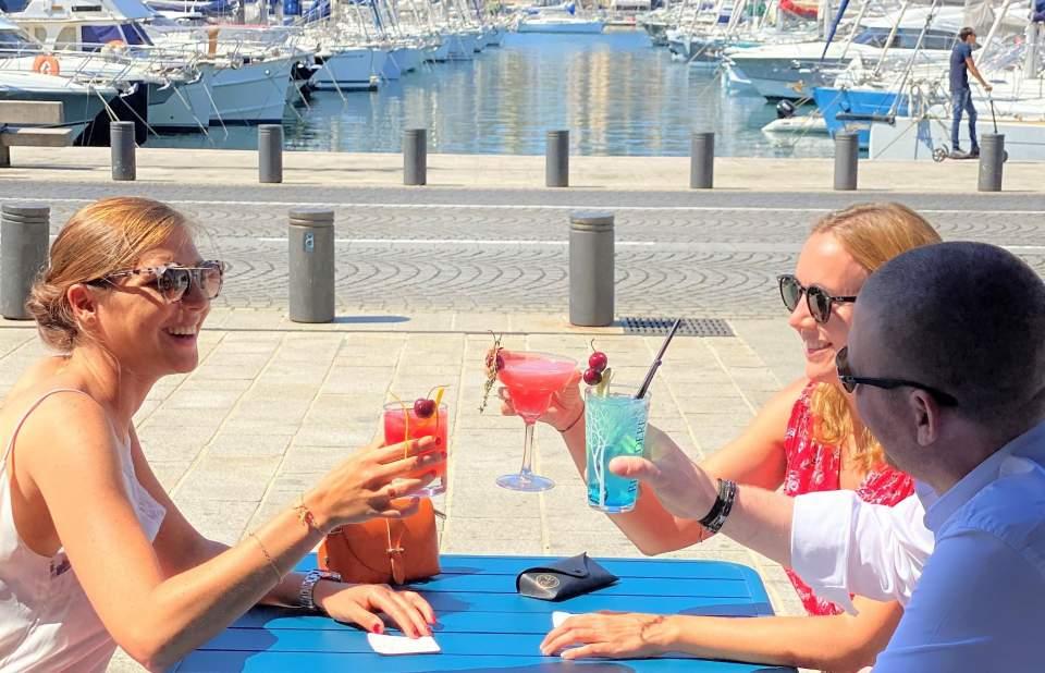Cocktails du Chef Barman César - Le Quai du 7ème, Brasserie & Bar à Cocktails, Marseille